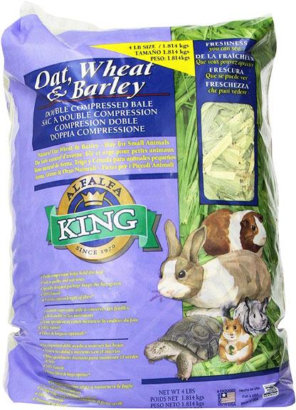 Alfalfa King Oat, Wheat & Barley Blend