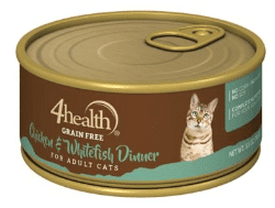 4Health Grain-Free Chicken & Whitefish Dinner for Cats