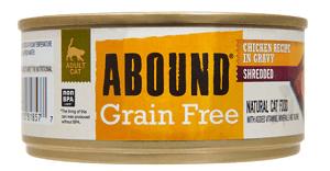 Abound Grain-Free Shredded Chicken Recipe in Gravy
