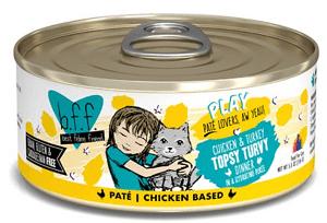 B.F.F. Play Pate Chicken & Turkey Topsy Turvy Dinner Canned Food