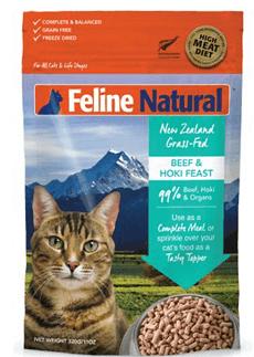 Beef & Hoki Feast Freeze-Dried Cat Food Formula