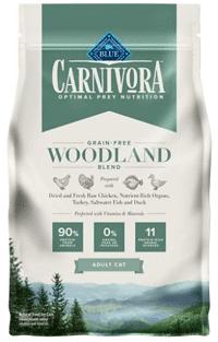 Blue Buffalo Carnivora Woodland Blend Grain-Free Adult Dry Cat Food