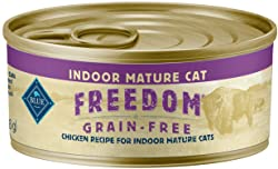 Blue Buffalo Freedom Indoor Mature Chicken Recipe Canned Food