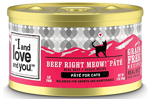 Cat Cans Beef, Right Meow! Pate