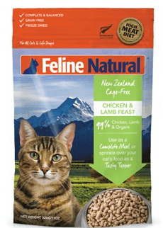 Chicken & Lamb Feast Freeze-Dried Cat Food Formula
