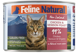 Chicken & Venison Feast Canned Cat Food