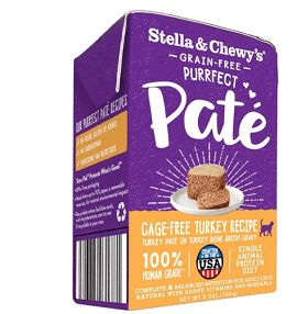 Grain-Free Purrfect Pate Cage-Free Turkey Recipe
