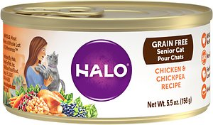 Halo Grain-Free Senior Recipe Wet Food