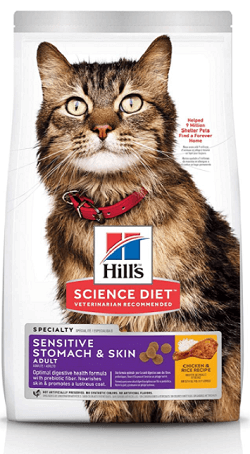 Hill's Science Diet Sensitive Stomach and Skin Cat Food