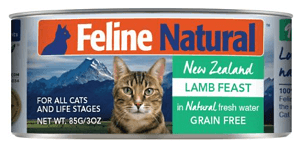 Lamb Feast Canned Cat Food