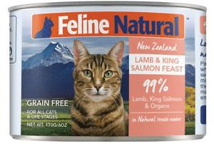 Lamb & King Salmon Feast Canned Cat Food