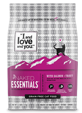 Naked Essentials Salmon + Trout Dry Cat Food