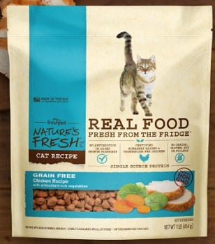 Nature's Fresh Grain Free Chicken Recipe for Cats Complete Meal