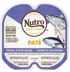 Nutro Perfect Portions Grain-Free Salmon & Tuna Pate Recipe