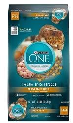 Purina ONE True Instinct Natural Real Chicken Plus Vitamins & Minerals Grain-Free Dry Food