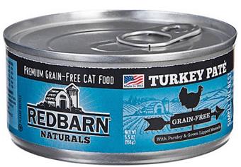 Redbarn Naturals Turkey Pate Grain-Free Canned Cat Food