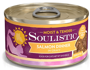 Soulistic Moist & Tender Salmon Dinner in Gravy Canned Food