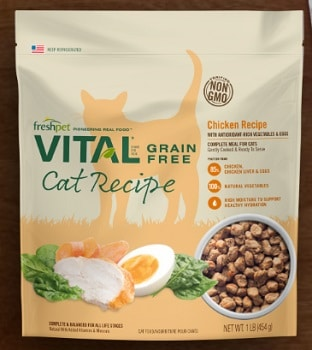 Vital Grain Free Chicken Recipe for Cats Complete Meal