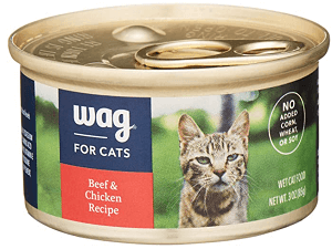WAG Beef Pate Canned Cat Food