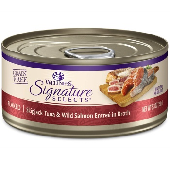 Wellness CORE Signature Selects Natural Canned Grain Wet Cat Food