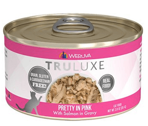 Weruva TruLuxe Pretty in Pink with Salmon in Gravy Grain-Free Canned Cat Food