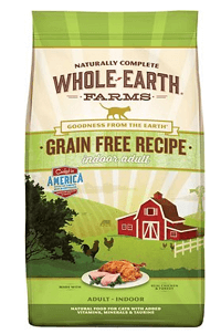 Whole Earth Farms Grain-Free Indoor Chicken & Turkey Dry Food