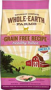 Whole Earth Farms Grain-Free Healthy Kitten Recipe