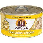 Weruva Paw Lickin' Chicken in Gravy Grain-Free Canned Cat Food