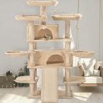 Amolife Heavy Duty 68 Inch Multi-Level Cat Tree