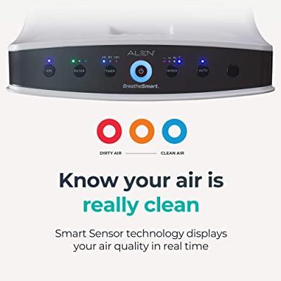 Alen BreatheSmart Classic Pet Dander/Odor Large Room Air Purifier