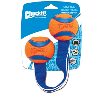 Chuckit! Tug Rope with Classic Rubber Balls