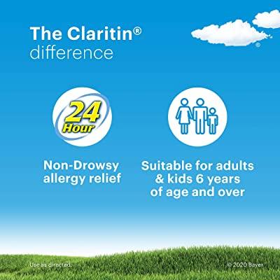Claritin Non-Drowsy 24-Hour Relief Reditabs