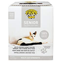Dr. Elsey's Precious Cat Unscented Non-Clumping Crystal Cat Litter
