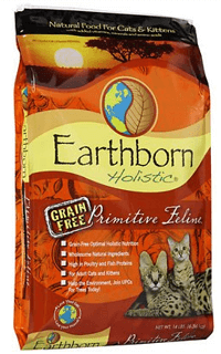 Earthborn Holistic Primitive Feline Grain-Free Natural Dry Cat & Kitten Food