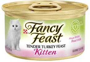 Fancy Feast Kitten Tender Turkey Feast Canned Cat Food