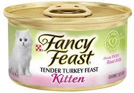 Fancy Feast Kitten Tender Turkey Feast Canned Cat Food