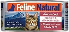 Feline Natural Chicken & Venison Feast Grain-Free Canned Cat Food