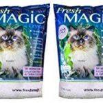 FreshMAGIC Large Chunk Style Crystal Cat Litter