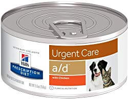 Hill's Prescription Diet a/d Urgent Care with Chicken Canned Dog & Cat Food