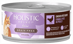 Holistic Holistic Select Natural Wet Grain Free Canned Cat Food Chicken Pâté