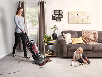 Hoover UH74210PC Power Drive Bagless Multi Floor Upright Vacuum Cleaner