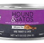 Hound & Gatos 98% Turkey & Liver Formula