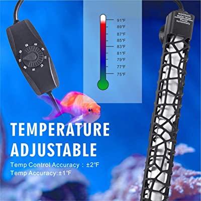 Hygger Submersible Aquarium Heater