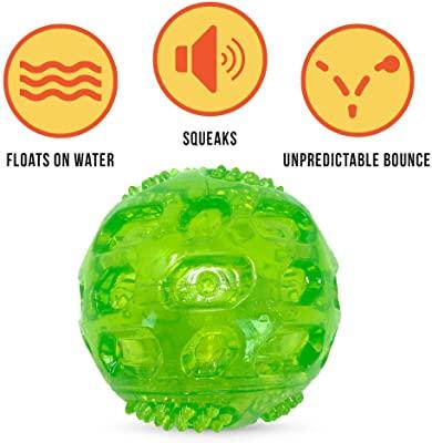 Hyper Pet DuraSqueak Dog Ball Dog Toy
