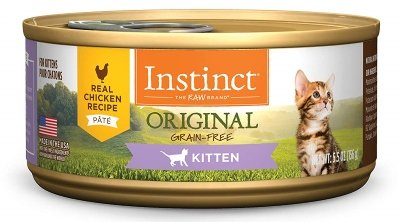 Instinct Kitten Grain-Free Pate Real Chicken Recipe Natural Wet Canned Cat Food