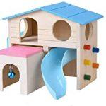 kathson Pet Small Animal Hideout Hamster House