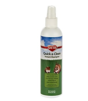 Kaytee Quick & Clean Small Animal Instant Shampoo