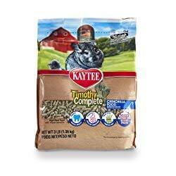 Kaytee Timothy Hay Complete Chinchilla Food
