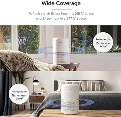 LEVOIT Core 300 True HEPA Air Purifier with Custom Filters
