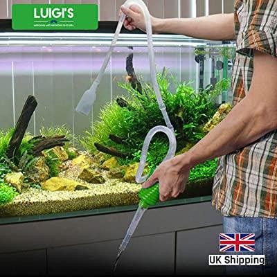 Luigi's Aquarium/Fish Tank Siphon and Gravel Cleaner